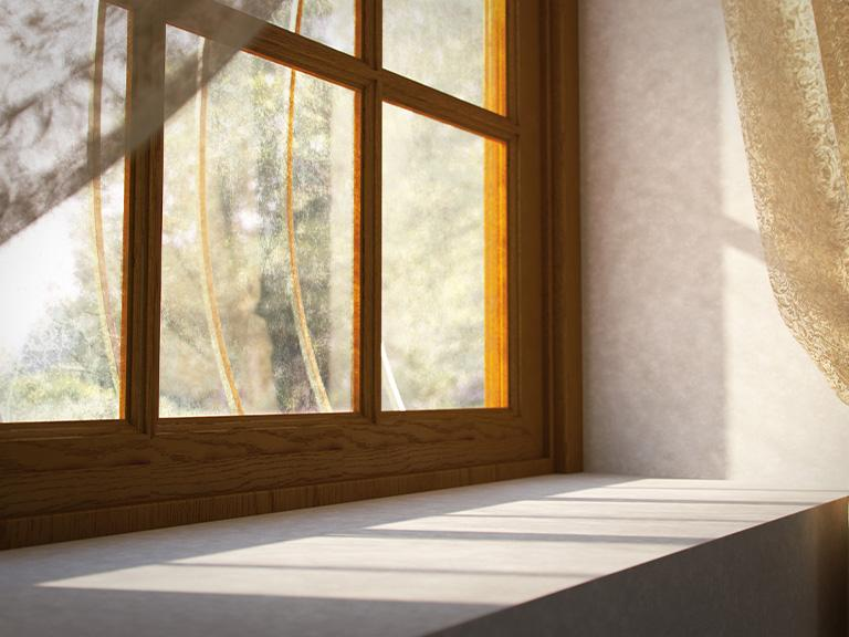Framuga okna